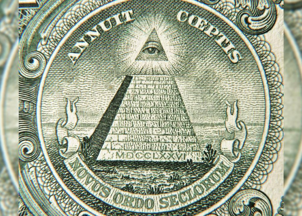 Annuit cœptis en el dólar estadounidense
