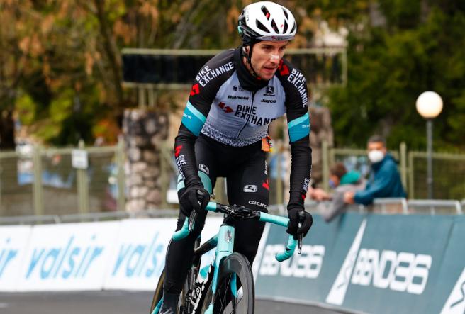 Simon Yates es quinto en la general del Giro de Italia 2021.