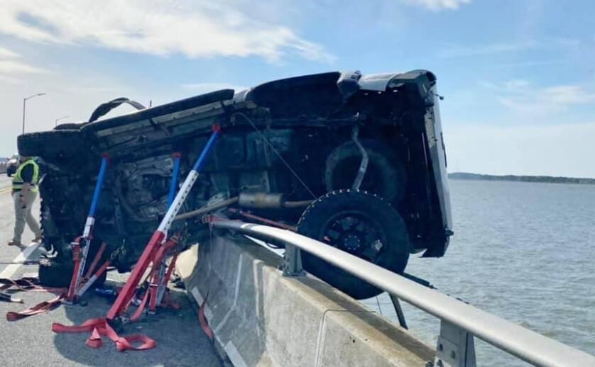 Accidente de tránsito en Ocean City, Estados Unidos
