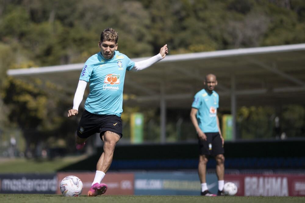 Brasil-entrenamiento