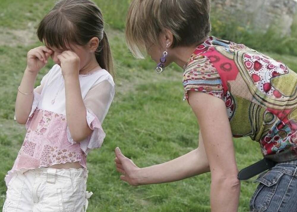 Castigos físicos a menores