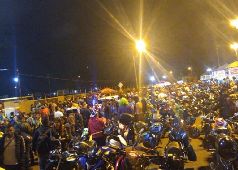 347302_Caravana de motociclistas // Foto: Facebook Gonnobikerreas - GBR