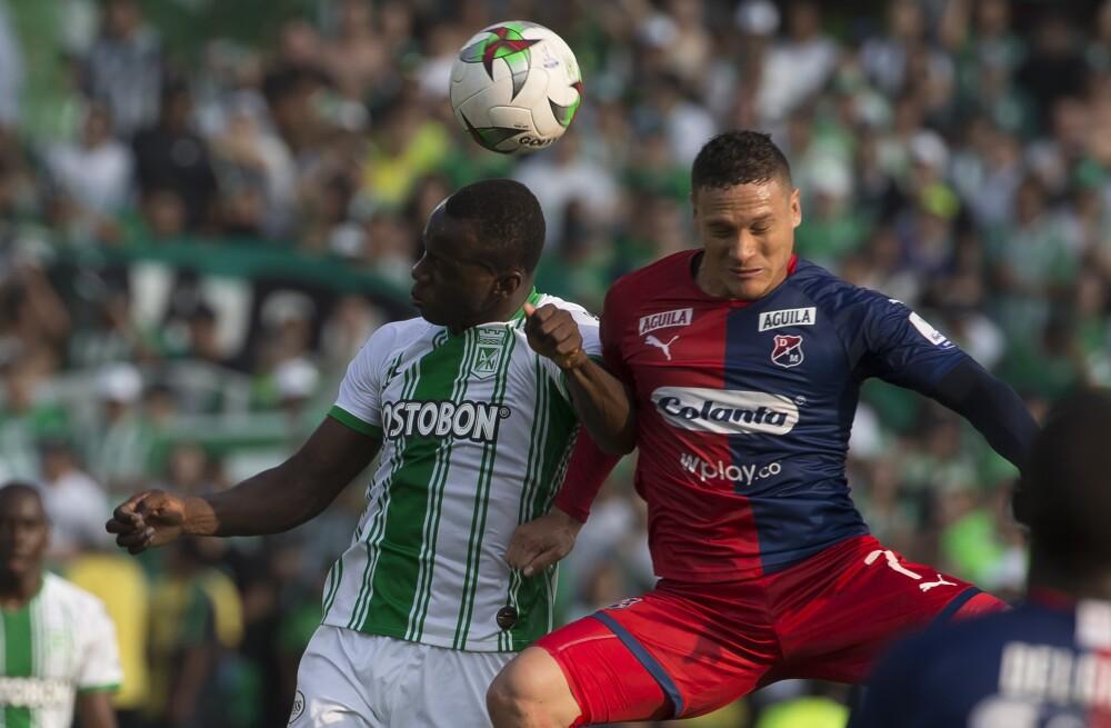 Nacional vs Medellín, fútbol colombiano