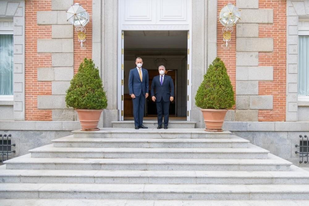Duque y el rey Felipe VI