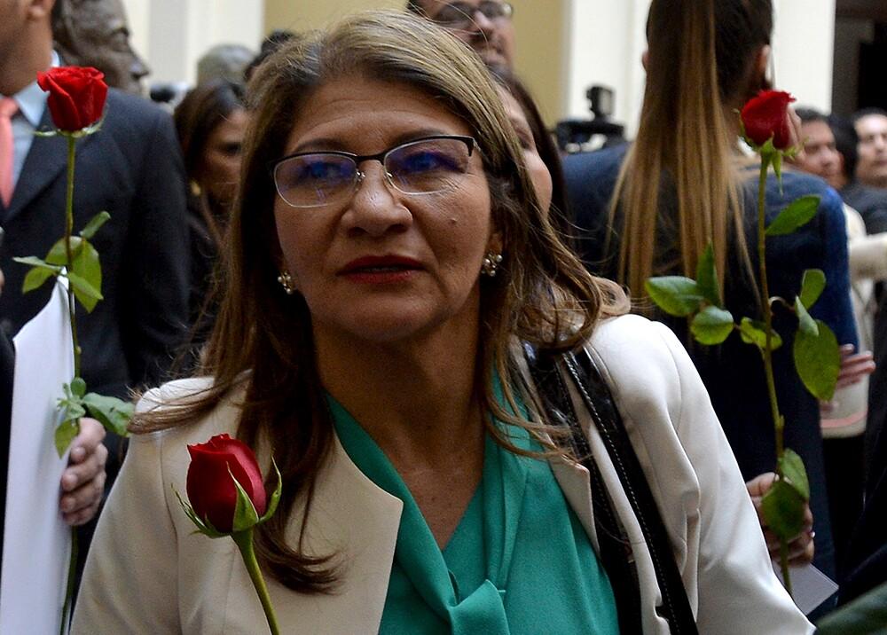 355402_Griselda Lobo, 'Sandra Ramírez', vocera de las Farc / Foto: AFP