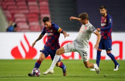 Messi vs Thomas Müller