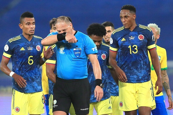 Nesto Pitana, árbitro argentino. Getty Images.jpeg