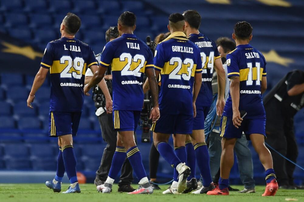 Juagadores de Boca Juniors 060121 AFP E.jpg