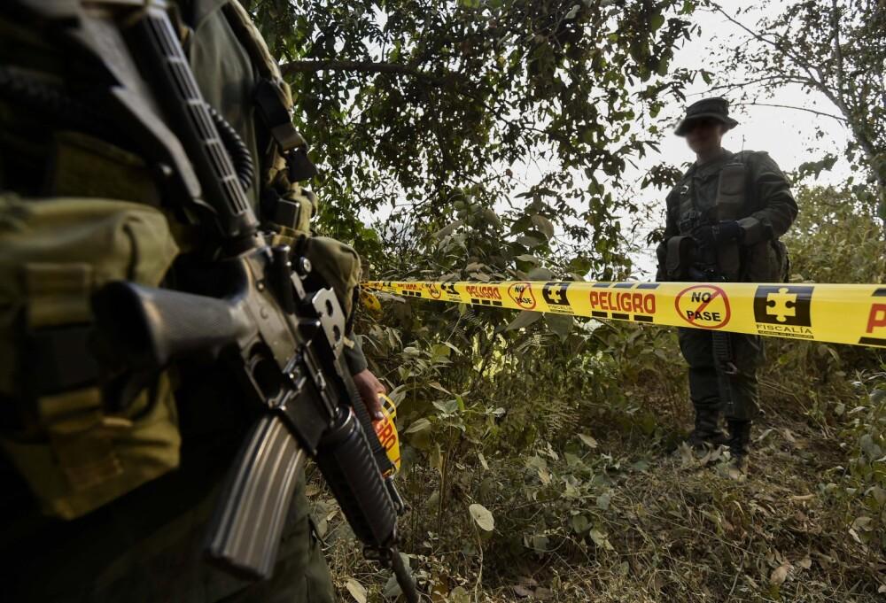 Asesinato en Colombia - imagen de referencia