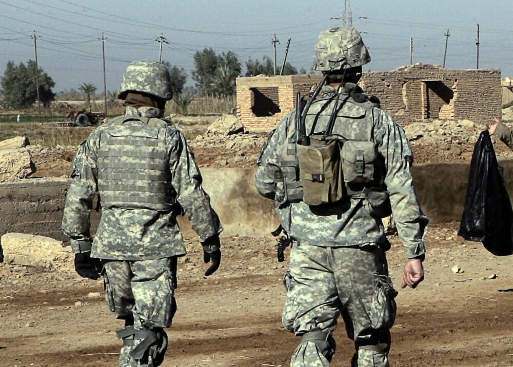 353564_BLU Radio. Soldados estadounidenses en Irak // Foto: Referencia AFP