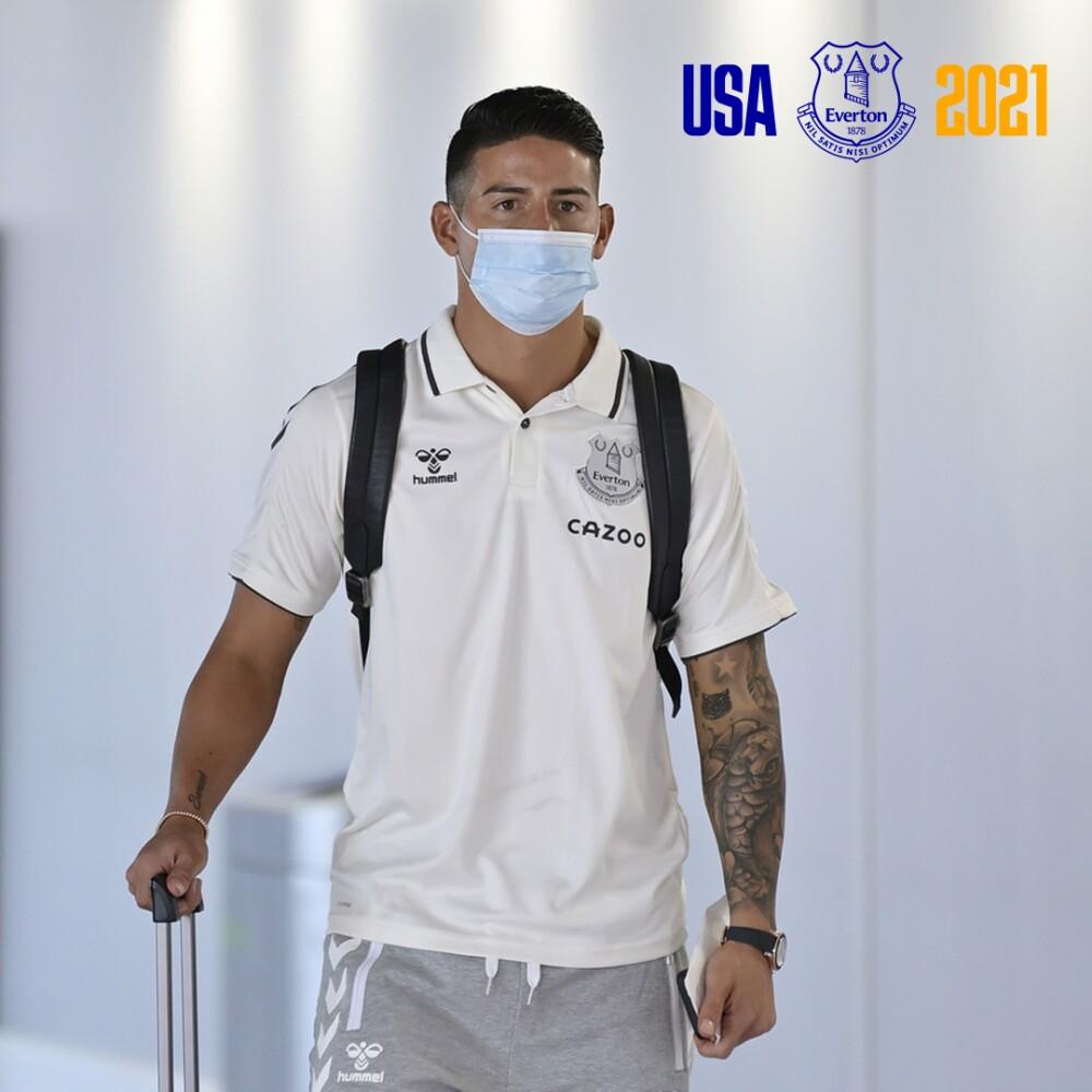 James Rodríguez, jugador de Everton. @Everton.jpg