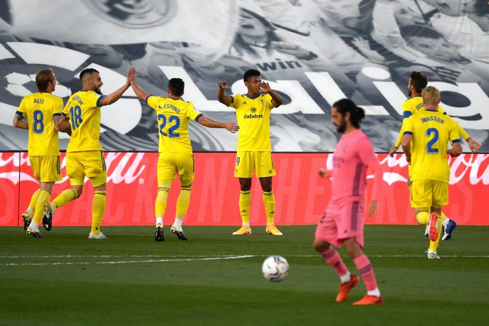 Real Madrid - Cádiz / AFP