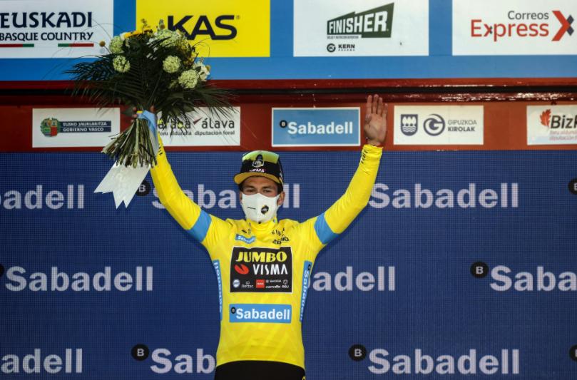 Primoz Roglic se coronó campeón de la Vuelta al País Vasco.