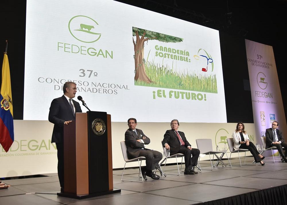 349345_BLU Radio. Congreso Nacional de Fedegan // Foto: Presidencia