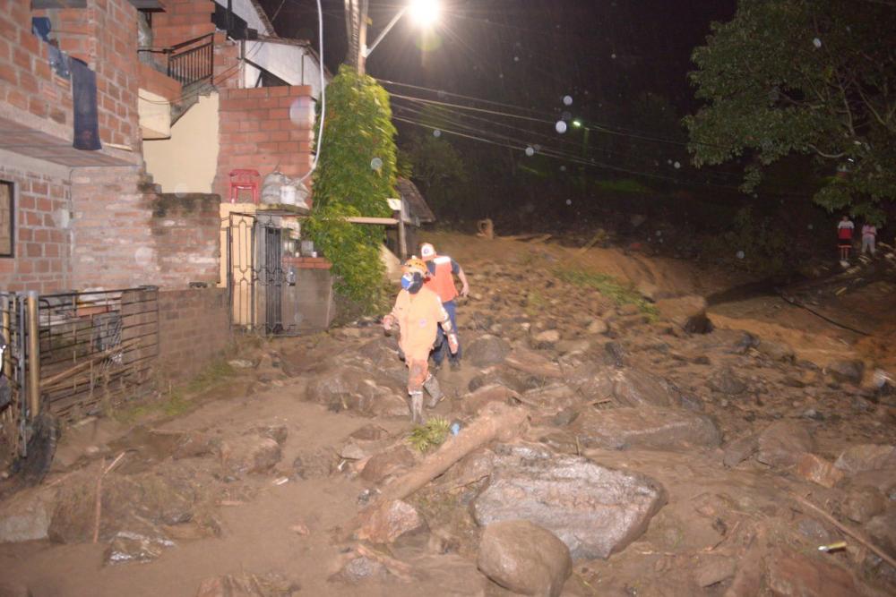 Emergencia en Bello por lluvias