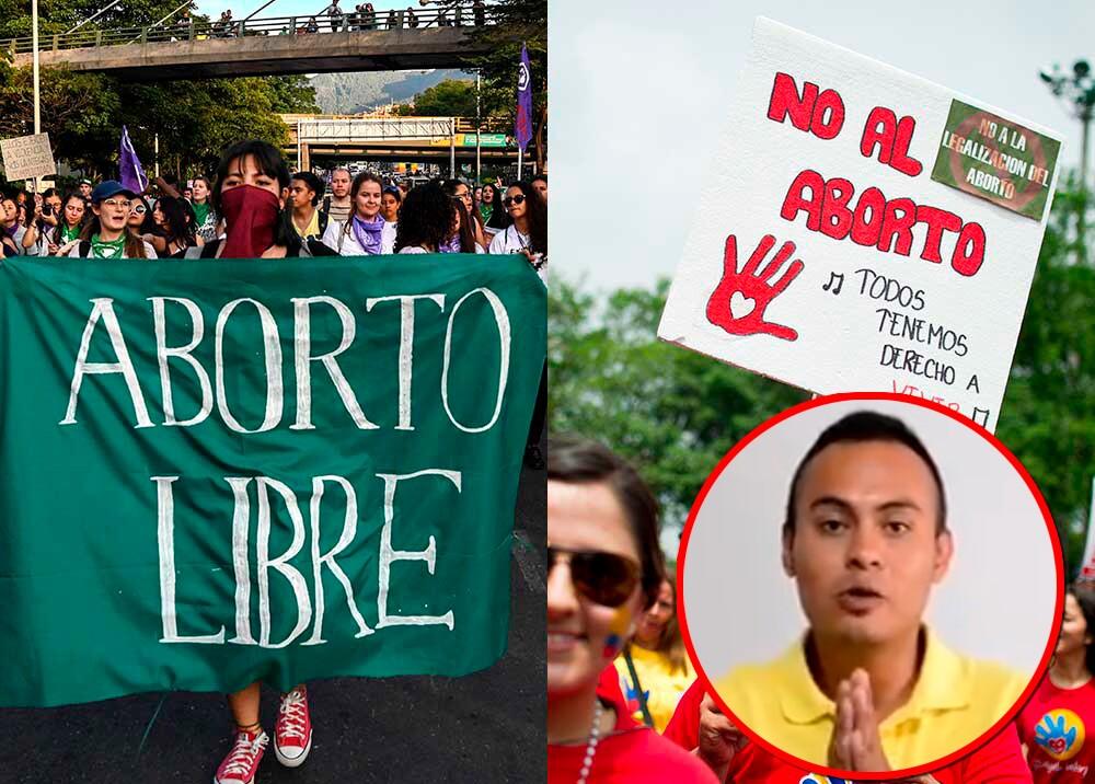 354994_Polémica por aborto que denunció Juan Pablo Medina / Fotos: AFP y Suministrada