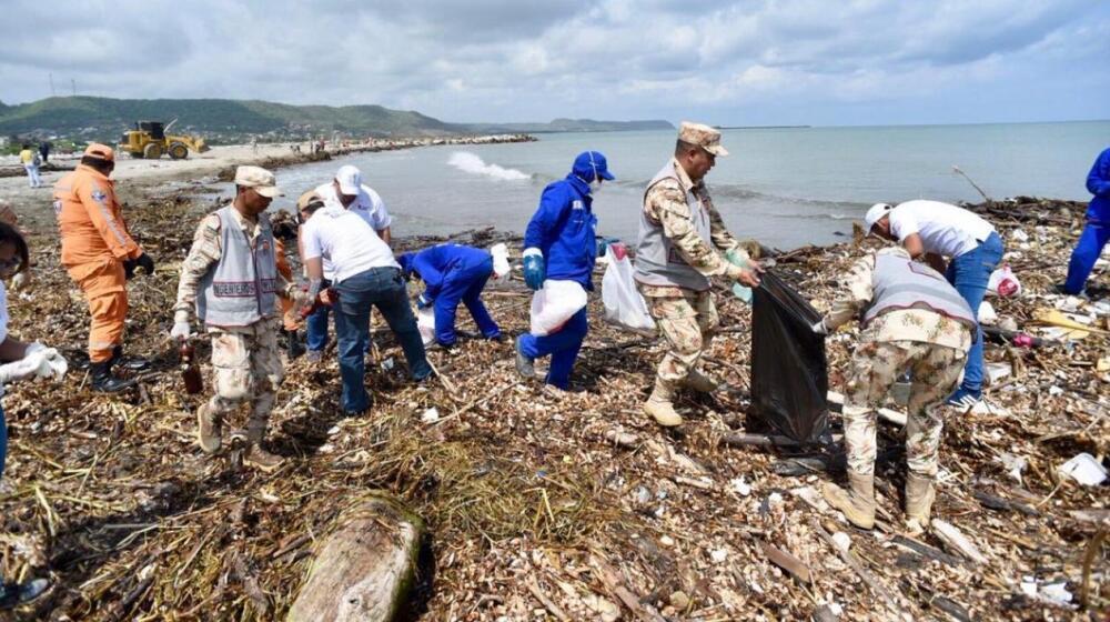 basura playas Atlántico