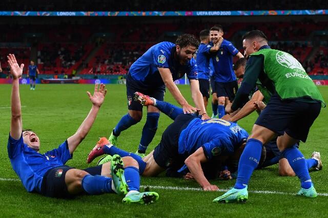Selección de Italia, en la Eurocopa