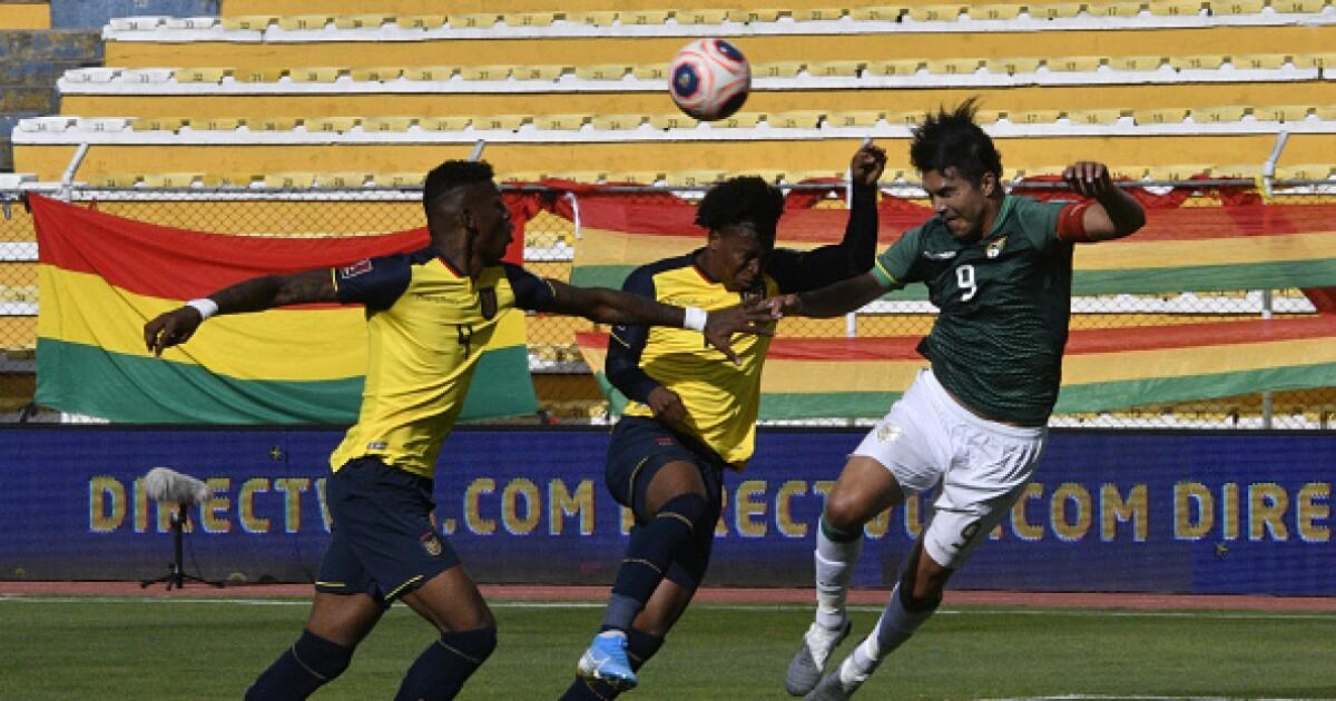 "Marcelo Martins, resignado con la derrota de Bolivia: ""Ecuador nos planteó un buen partido"""