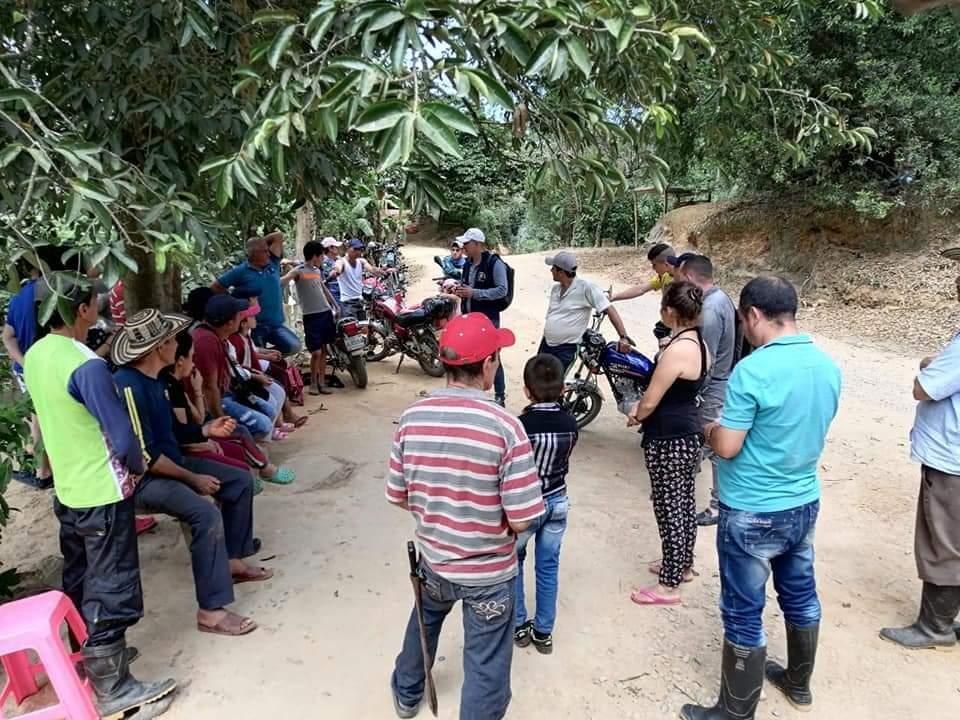 desplazados del municipio de Hacari catatumbo.jpeg