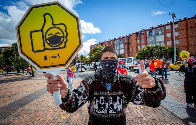 Pedagogía durante la pandemia en Bogotá