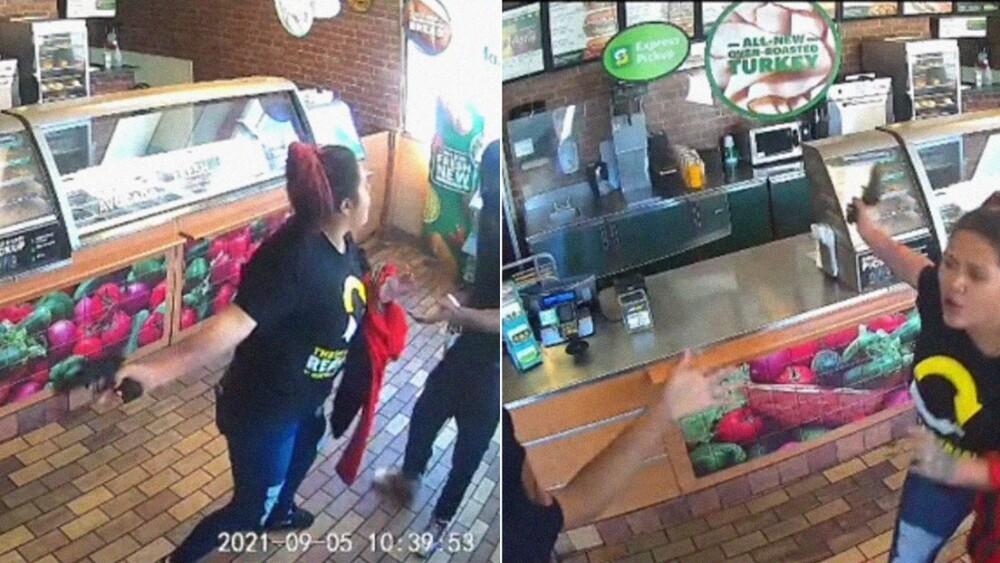 Mujer ahuyenta a un ladrón y la suspenden