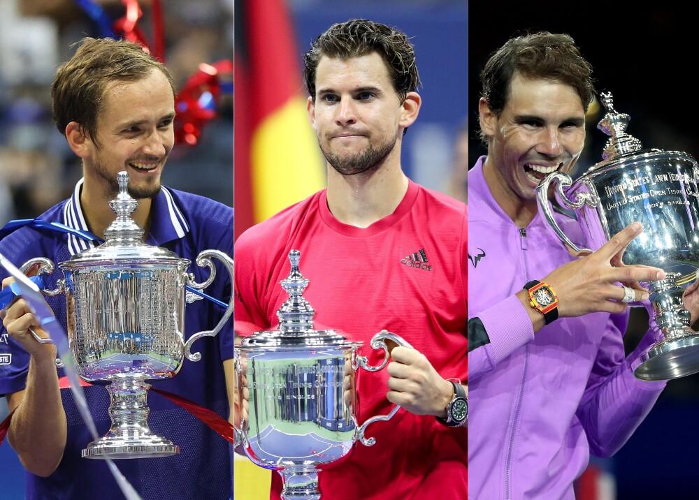 10 últimos ganadores del Abierto de Estados Unidos masculino Foto AFP.jpg