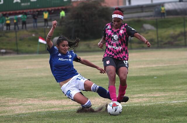 Santa Fe vs Millonarios, fútbol femenino