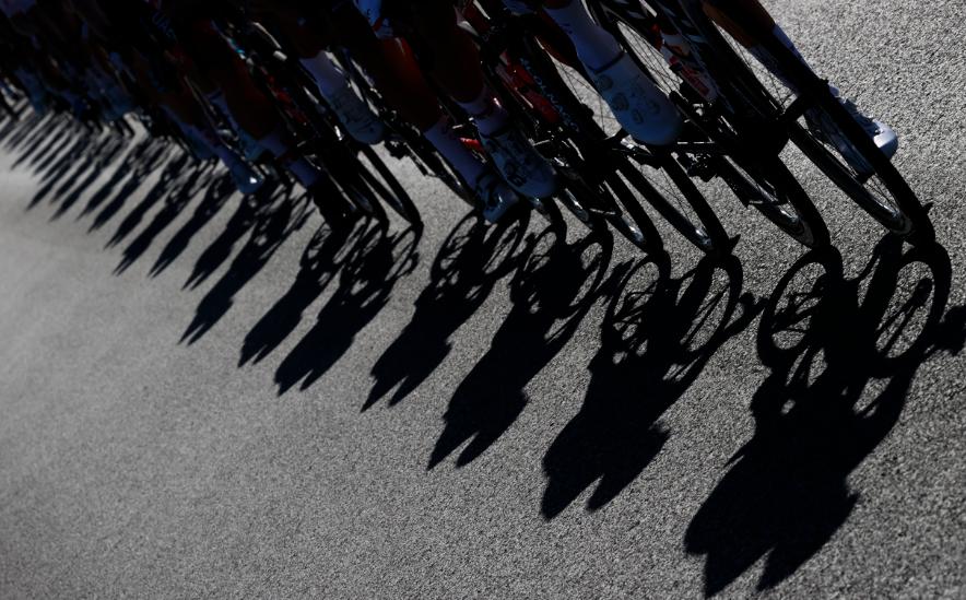 Pelotón en el Giro de Italia 2020