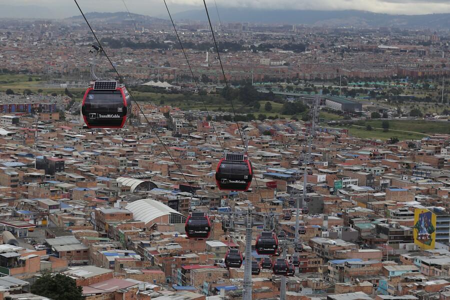 barrios sin agua en el sur de Bogotá del 15 al 17 de marzo