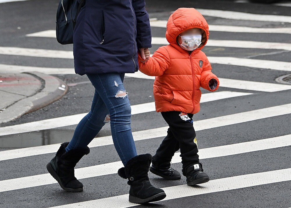 363137_Coronavirus en niños / Foto: AFP
