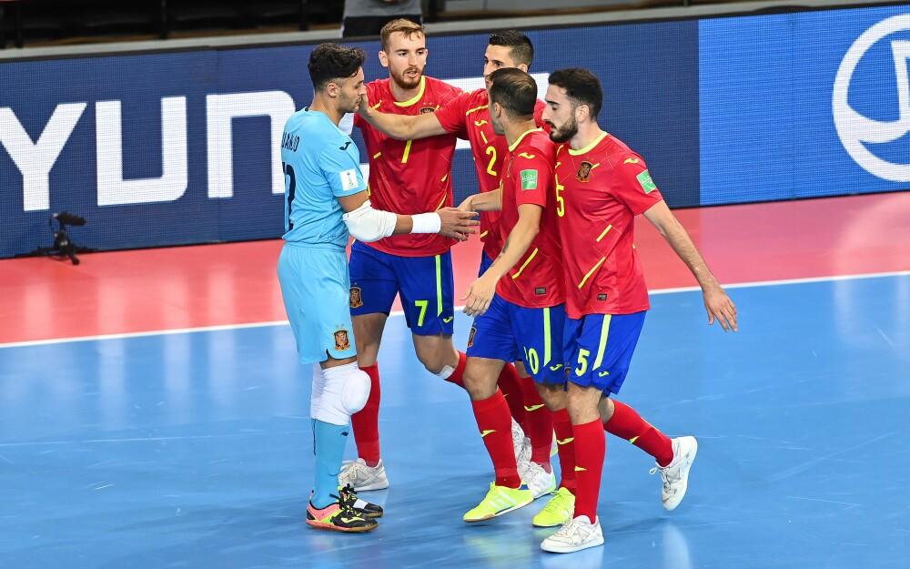 Selección de España Futsal. @SeFutbol.jpg