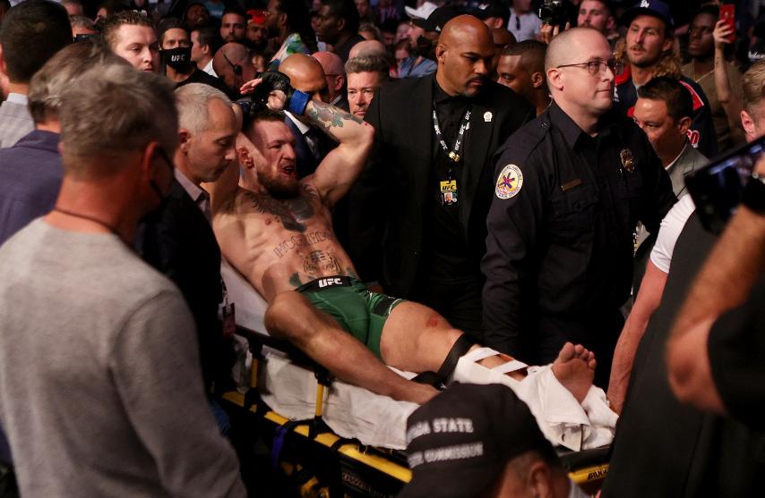 Conor McGregor perdió frente a Dustin Poirier en la UFC.