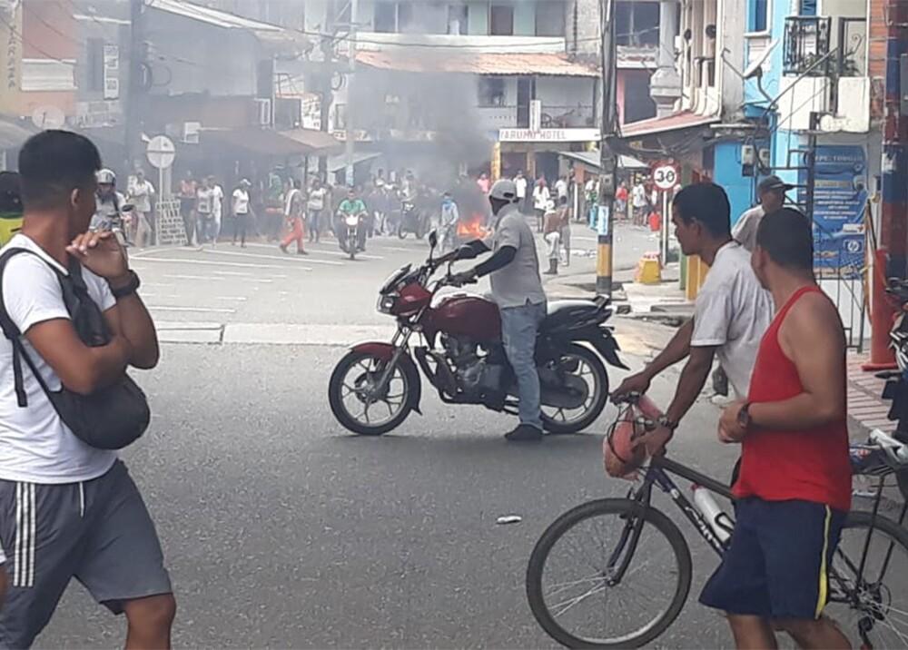 347163_BLU Radio. Disturbios en Tarazá / Foto: Cortesía