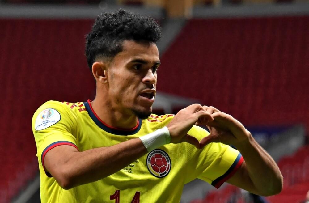 Luis Díaz. Foto AFP