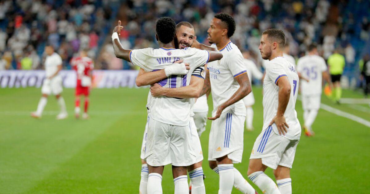 Lluvia de goles en el Bernabéu: Real Madrid goleó 5-2 al Celta, que tuvo a Jeison Murillo en cancha