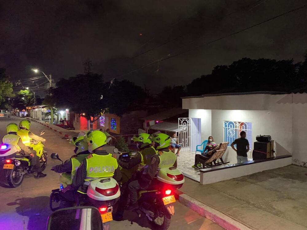 Patrullaje Barranquilla