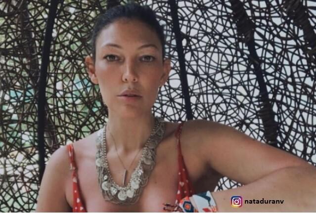 Natalia Durán y su cáncer de tiroides