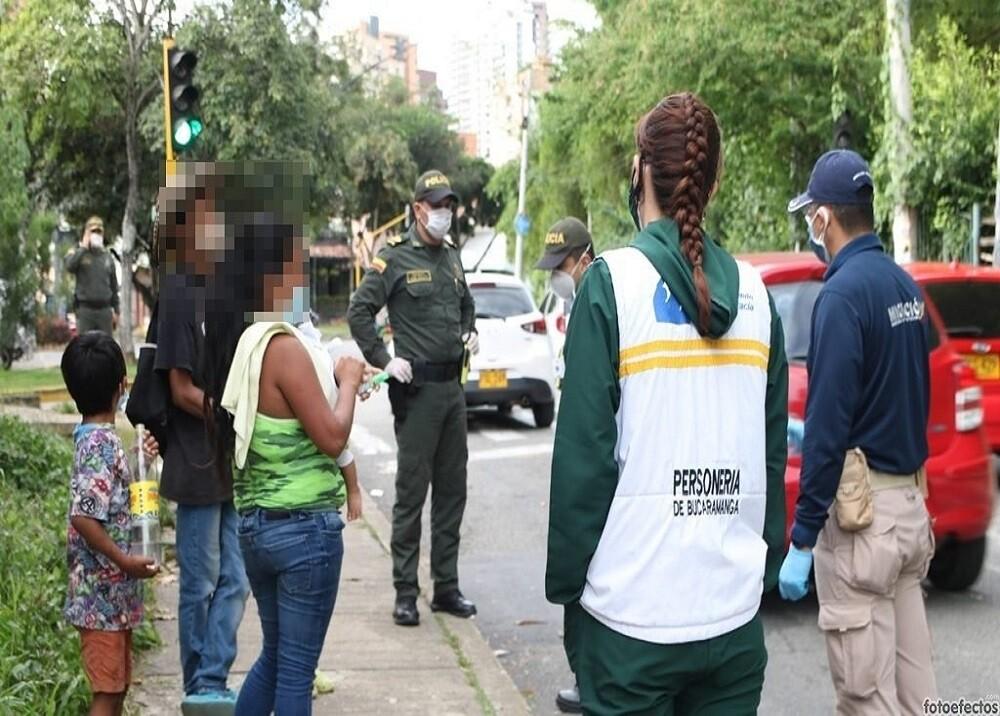 374237_BLU Radio. Niños Mendicidad / Foto: Policía de Bucaramanga