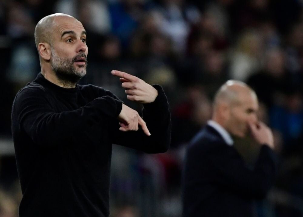 372832_Pep Guardiola y Zinedine Zidane / AFP