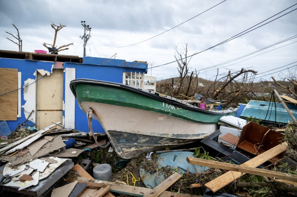 Destrozos del huracán Iota en Providencia : AFP.jpeg