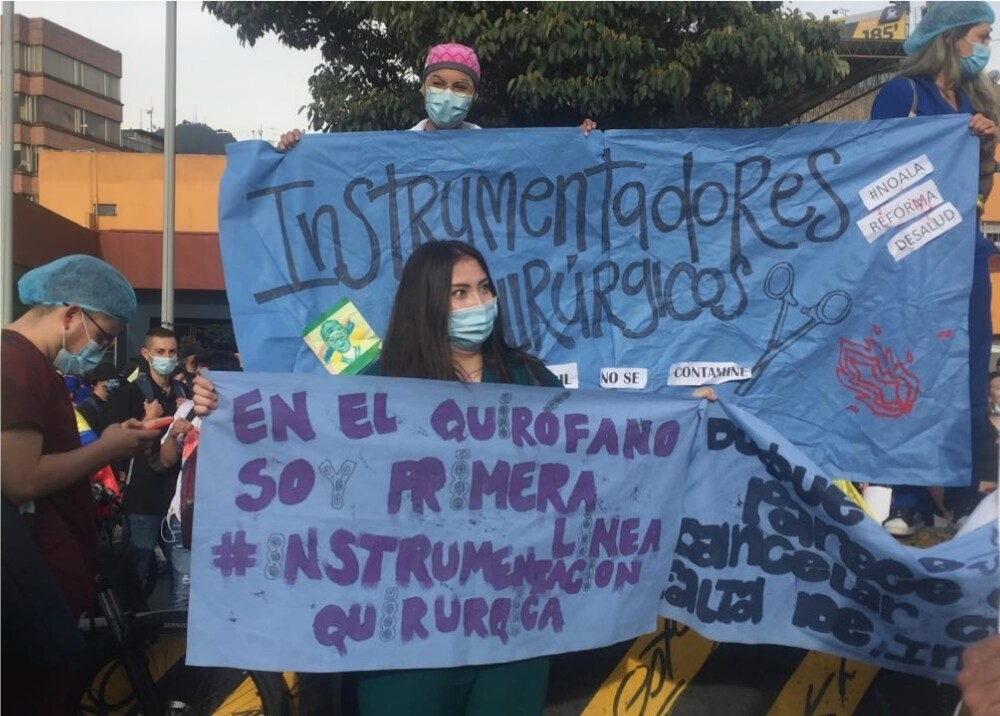 Estudiantes continúan protestando contra el Gobierno Foto Suministrada.jpg