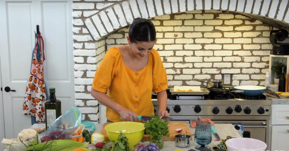 Selena Gómez programa cocina