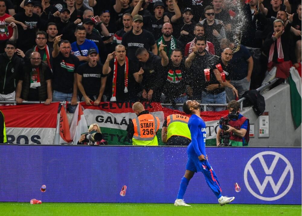 Hinchas de Hungría en el partido contra Inglaterra Foto AFP.jpg