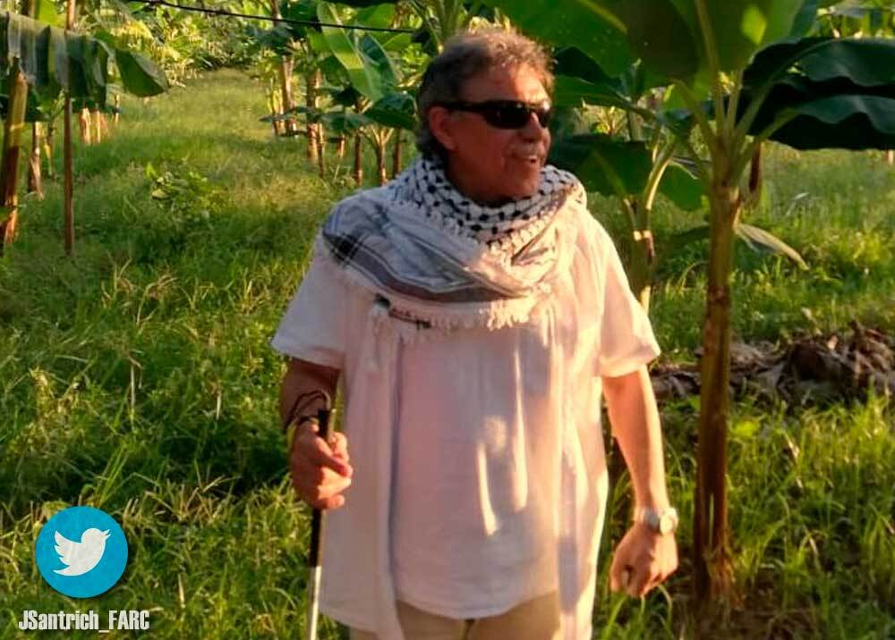 337735_BLU Radio // Seuxis Pausias Hernández Solarte, 'Jesús Santrich' // Foto: Twitter @JSantrich_FARC
