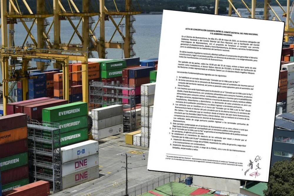 Polémica por acuerdo entre Gobierno y acuerdo con comité de paro en buenaventura