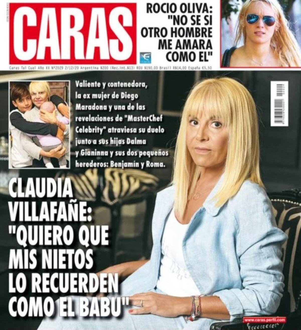 La Hija De Maradona Exploto Por Portada De Revista Argentina Con Imagen De Claudia Villafane
