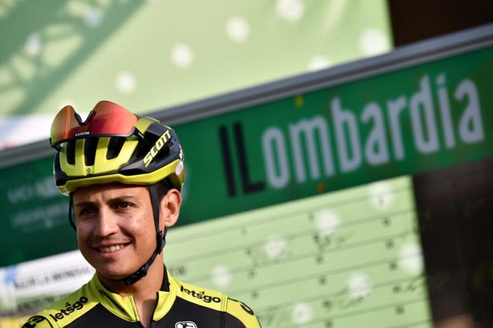 Esteban Chaves en la Vuelta a Cataluña 2021