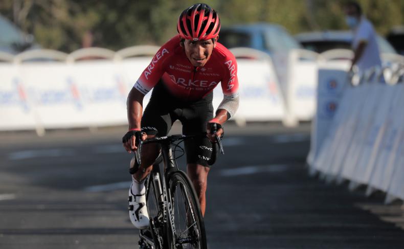 Nairo Quintana, ciclista colombiano del Arkea-Samsic.