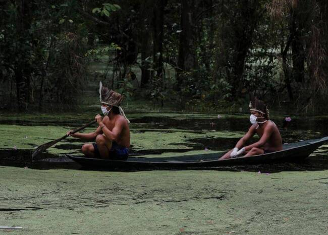 364005_Amazonas_indígena // Foto: Referencia AFP
